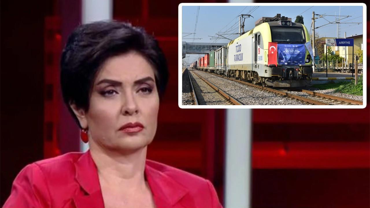 TCDD'nin Çin'e giden treni hakkında dalga geçen Özlem Gürses fena tosladı!.     Haber, Haberler, Son Dakika Haberler